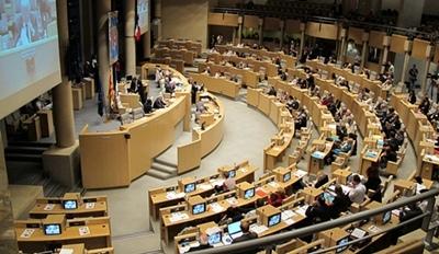 En 2003 les élus de la Région Paca s'était prononcé sur deux voeux concernant le nom de la langue régioinale (photo MN)