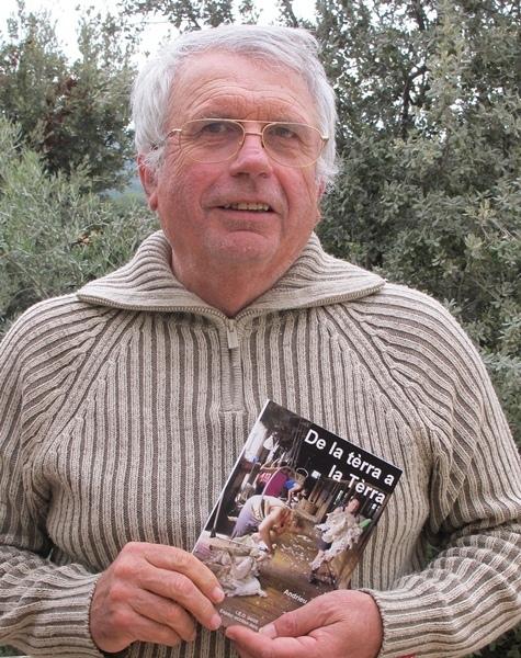 Andrieu Abbe a choisi une centaine de ses billets parmi près de 1500 chroniques à l'Agriculteur Provençal (photo MN)