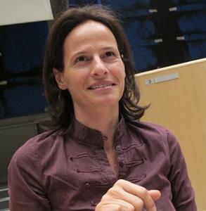 Annabelle Jaeger est au centre d'une Stratégie Régionale de la Biodiversité qui doit être adoptée par la Région Paca au printemps 2013 (photo MN)