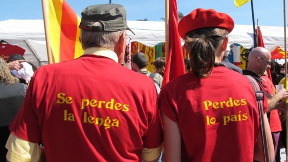 Loin de la politique de projets, forcément éphémère, ce que demande l'occitanisme, c'est une reconnaissance, une réparation historique et partant les moyens de faire vivre la culture du pays (photo MN)