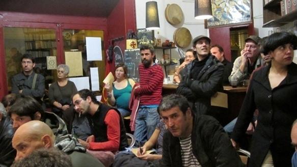 l'Ostau faisait salle plus que comble pour un débat sur l'occitanisme à Marseille (photo MN)