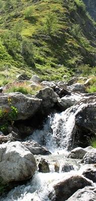 """Mardaric ou merderic n'a rien à voir avec la m...mais avec une expression pré latine qui signifie """"eaux descendant de la montagne"""", un indice de pureté! (photo MN)"""