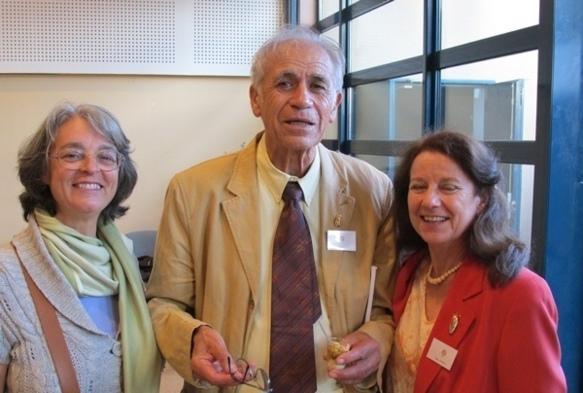 Entre Viviana Roux e Claudeto Occelli en octobre 2010 (photo MN)
