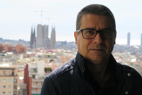 Jordi Matas i Dalmases, jugé le mois  prochain pour un délit inexistant, mais qu'importe, il convient de faire un exemple (photo MN)