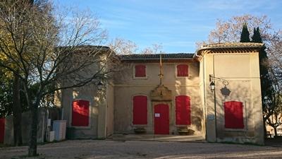 L'Ostau de Provença réouvre au public...masqué (photo MN)