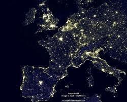 La pollution lumineuse...mise en lumière (photo XDR)