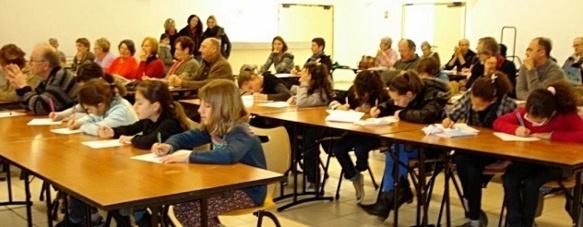A Carnoules (83) l'Ecole bilingue Ive Bramerie de Cuers était présente (photo Sandra Ros DR)