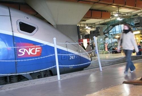 Le TGV Lyon-Turin consommerait tout le budget des lignes nouvelles régionales (photo MN)