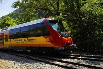 Le Train des Pignes pourrait avoir une cadence de quatre navettes/heure dans sa partie niçoise (photo XDR)