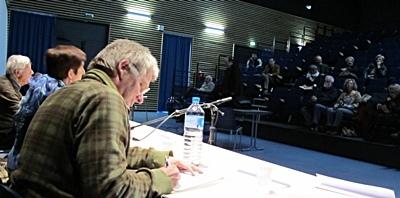 L'épanouissement de l'occitanisme de Max Rouquette, l'affaiblissement de celui de Paul Ricard  ont fait l'objet de communications à Septèmes début février 2013 (photo MN)