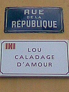 Parfois l'ancien nom est en parfait décalage avec l'appellation en français (photo XDR)