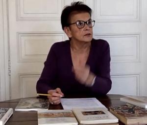 Claire  Toreilles présente l'œuvre de Valère Bernard et Angèlo Dàvi sur la chaîne Youtube du Cep d'Oc