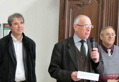 Le Capoulié Jaques Mouttet a dénoncé l'absence d'intérêt de Marseille Provence 2013 pour la langue de la région (photo MN)