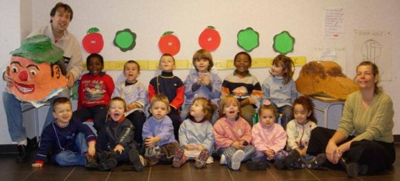 La calandreta de Drap, dans le pays niçois, en 2005. Le projet actuel se situera a Nice même, où la plupart des parents vivent (photo CD DR)