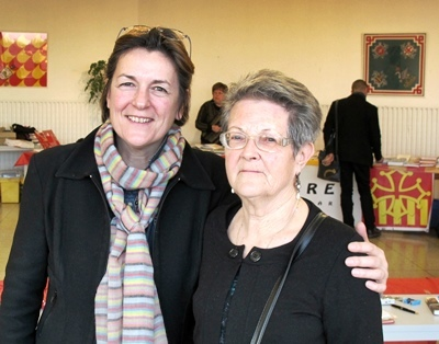 Silvia Feuga e Eliana Bremond (photo MN)