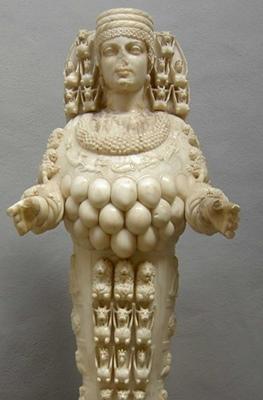 Artémis d'Ephese, l'abondance et la protection (photo XDR)