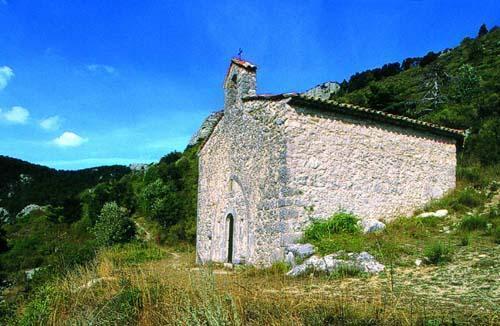 La chapelle de Séranon, dans le nouveau parc (photo XDR)