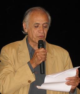 Septembre 2006 lors de la remise du Grand Prix Littéraire de Provence, à Ventabren (photo MN)