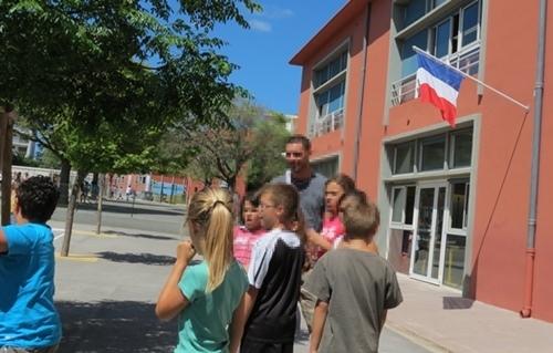Le provençal à l'école publique ? L'idée fait son chemin sur le terrain (photo MN)