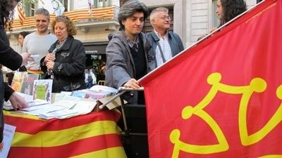 Lo Caoc recebe aperaqui 40 personas ai cors d'occitan de Barcelona (photo MN)
