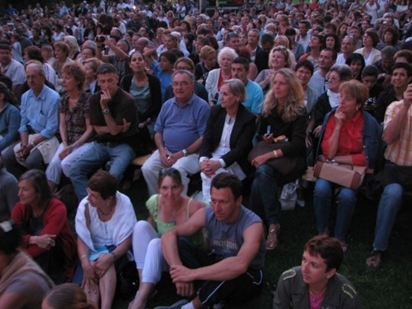 2000 parents et amis pourraient, avec les curieux, assister au Cantejadas le 14 mai au soir (photo MN)