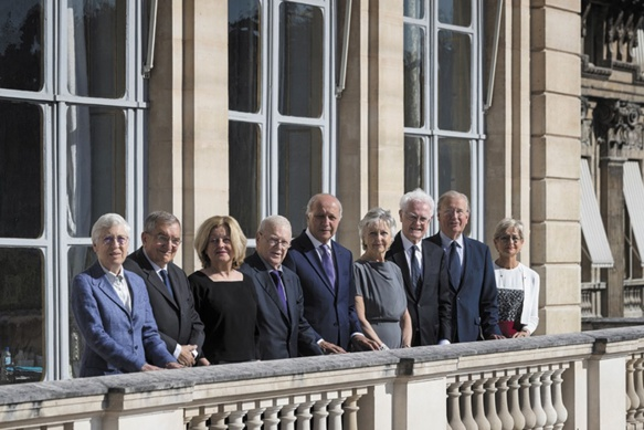 Les membres du Conseil Constitutionnel (photo Conseil Constitutionnel DR)
