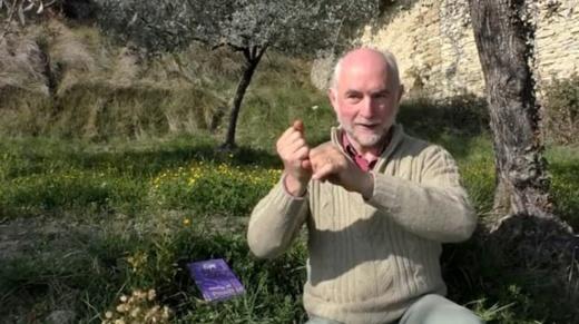 Joan-Lois Ramel (1955-2021). L'homme discret dont le travail silencieux profitait aux enseignants et servira de base aux futurs reviscolaires de la langue d'oc en Drome (photo XDR)