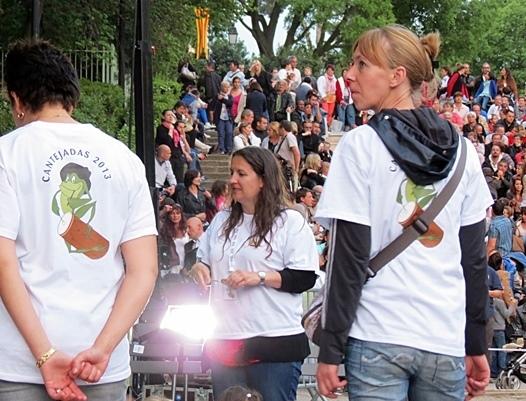 Parmi les accessits de l'Aeloc, les Cantejadas, un succès public en mai 2013 (photo MN)