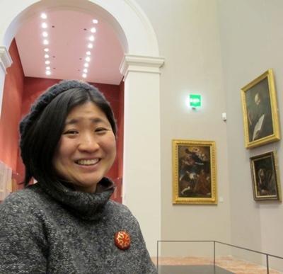 La jeune chercheuse a organisé sa vie pour effectuer deux voyages d'études et de rencontres par an (photo MN)