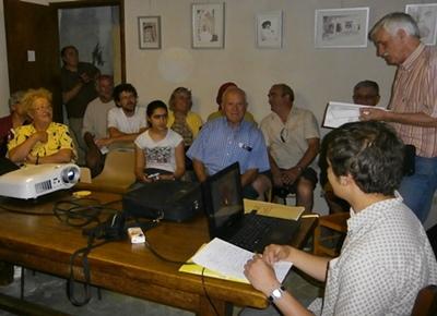 Après les sorties, les débats (photo AC)