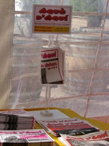 800 journaux ne tarderont pas à trouver lecteur...(photo PC)