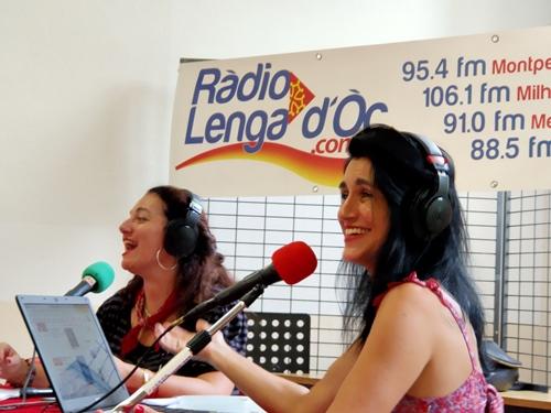 Ràdio Lengadòc avait joué la carte de la bonne humeur, avec celle du débat sociétal (photo MN)