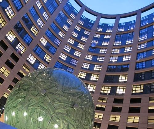 Le parlement européen à Strasborg (photo MN)