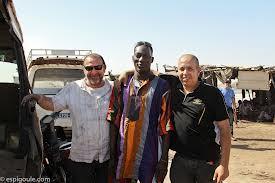 Les acteurs au Sénégal durant le tournage (photo XDR)