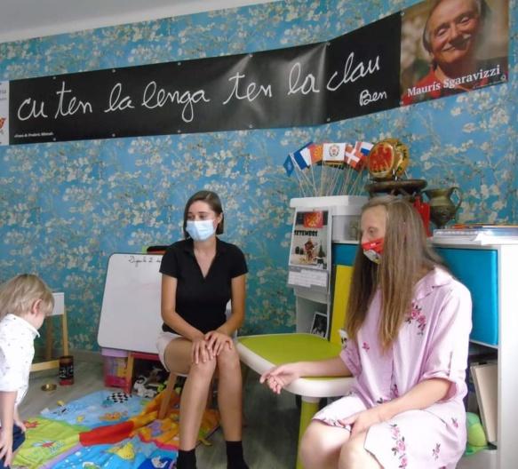 L'école associative niçoise débute avec cinq élèves de maternelle (photo CD DR)