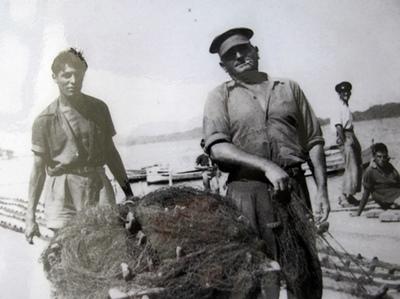 Albert Laure (à g.) avait 20 ans en 1945, quand il a débuté dans le métier (photo archives XDR)