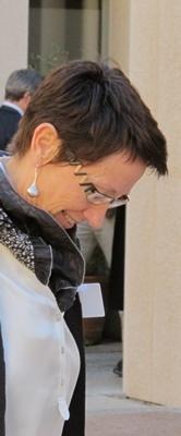 Anne-Marie Hautant est la principale opposante au maire Jacques Bomberd (photo MN)