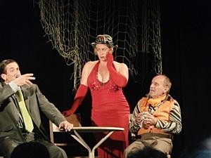 Avec le Teatre de la Rampa, parties de rire et découverte de la langue d'Oc à Boschèt (photo MR)