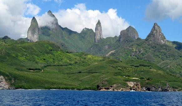 Ua Pou comme les cinq autres îles-communes a subi les conséquences de décennies de surpêche (photo XDR)