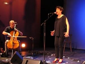 Sujet austère, musique contemporaine, Guylaine Renaud n'avait pas choisi la facilité (Photo MN)