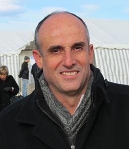 Le gérant d'Urbasolar, Arnaud Mine espère créer une filière du photovotaïque français, qui serait en fait d'abord languedocienne (photo MN)
