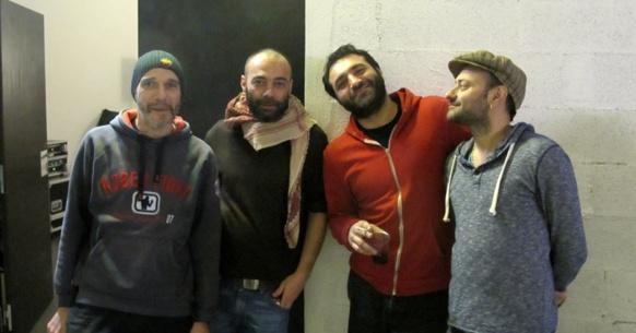 """Daqui Dub après une première séance de """"restitution musicale au public"""" à la Friche de la Belle de Mai (photo MN)"""