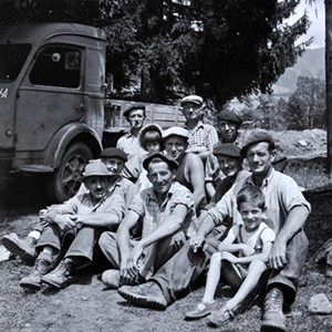 L'oeuvre champsaurine de Vivian Maier n'a pas encore pu être valorisée. Un projet de musée attend encore les fonds nécessaires pour être lancé (coll. Maloof DR)