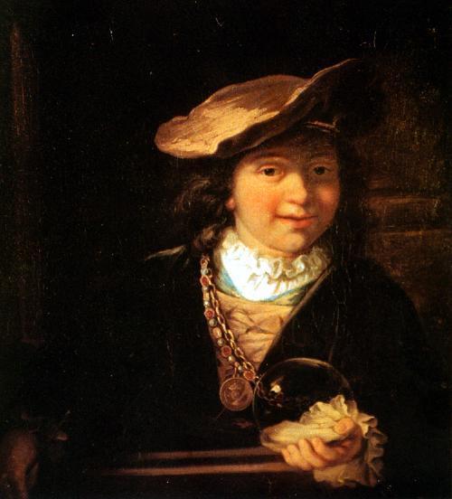 L'Enfant à la bulle. Le Rembrandt de Draguignan n'en serait pas un, mais ses voleurs l'ignoraient (photo XDR)