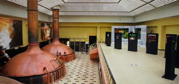 Les cuves de brassage traditionnelles à Marseille (photo XDR)
