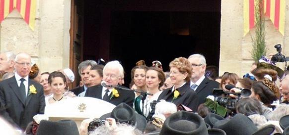 Centenaire consensuel à Maillane le 25 mars 2014 (photo Viviana Roux)