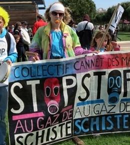 Les Français refusent d'exploiter le gaz de schiste. Importé des USA, il pourrait demain remplacer le gaz naturel russe (photo MN)