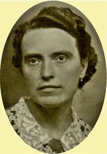 Rose Salle, une femme à la parole libre ; mais qu'il était difficile de vivre différemment sous le regard des autres en 1950 en milieu rural ! (photo XD