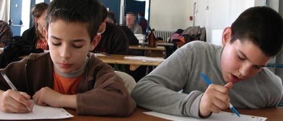 Moins d'élèves comptés que l'an passé, mais dont l'Académie est certaine qu'ils apprennent effectivement le provençal (photo MN)
