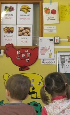 Trois écoles publiques ont désormais un statut d'école bilingue. Le processus dure trois ans (photo MN)